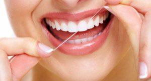 Fio dental, saúde bucal, higiene bucal